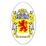 Carlton Sticker (Oval 50 pk)