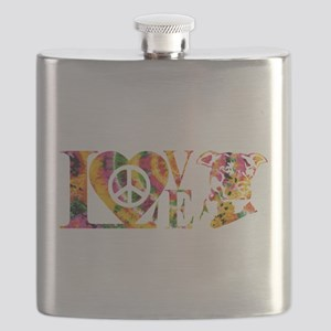 PITBULL LOVE Flask