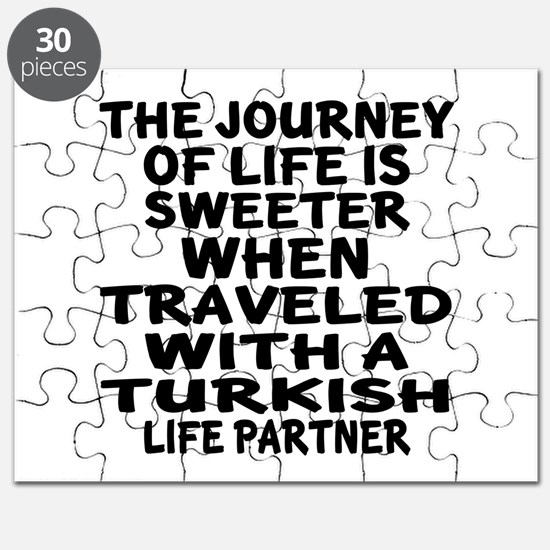Traveled With Turkish Life Partner Puzzle