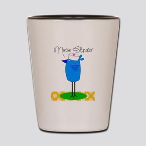 nurse educator 2 Shot Glass