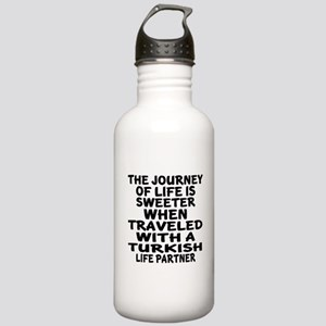 Traveled With Turkish Stainless Water Bottle 1.0L
