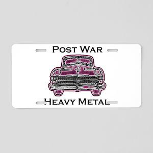 pwhm Aluminum License Plate