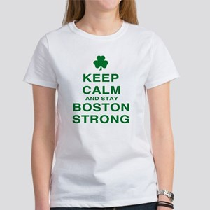 Keep Calm and Boston Strong Women's T-Shirt