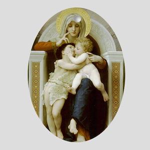"""Virgin, Jesus & St. John"" Ornament"