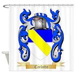 Carlotto Shower Curtain