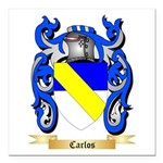 Carlos Square Car Magnet 3