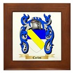Carlos Framed Tile