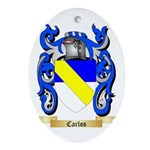 Carlos Ornament (Oval)