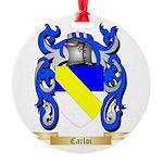 Carloi Round Ornament