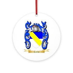 Carloi Ornament (Round)