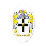 Carlisle Oval Car Magnet