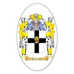 Carlisle Sticker (Oval 50 pk)