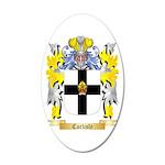 Carlisle 20x12 Oval Wall Decal