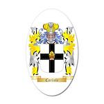 Carlisle 35x21 Oval Wall Decal