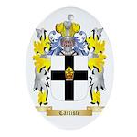 Carlisle Ornament (Oval)
