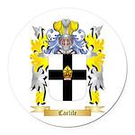 Carlile Round Car Magnet