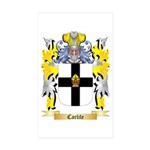 Carlile Sticker (Rectangle 10 pk)