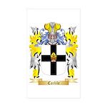 Carlile Sticker (Rectangle 50 pk)