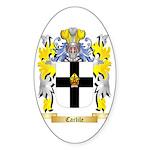 Carlile Sticker (Oval 50 pk)