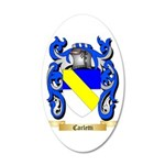 Carletti 35x21 Oval Wall Decal