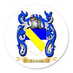 Carlesso Round Car Magnet