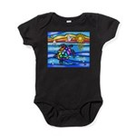 Sea Turtle #8 Baby Bodysuit