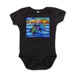 Sea Turtle #8 Baby Bodysuit