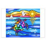Sea Turtle #8 Large Poster