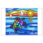 Sea Turtle #8 Large Poster