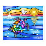 Sea Turtle #8 Small Poster
