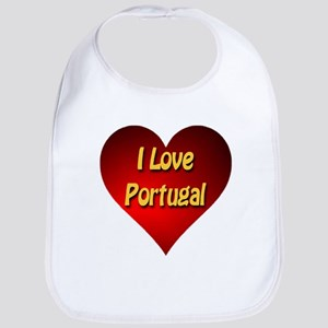 I Love Portugal Bib