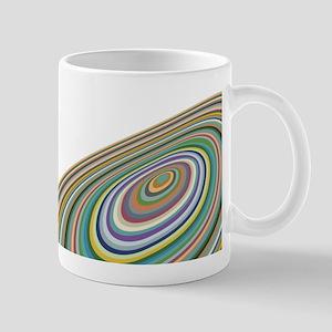 Abstract Impressionist Spheres Mug