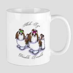 Shih Tzu Double Trouble Mug