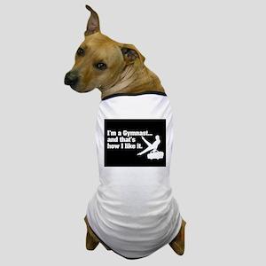 I'm A Gymnast... Boys Dog T-Shirt