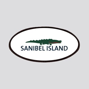 Sanibel Island - Alligator Design. Patches