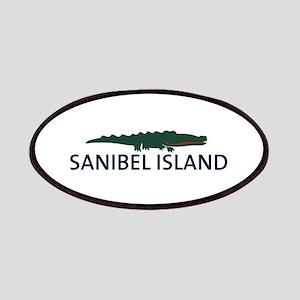 Sanibel Island - Alligator Design. Patches