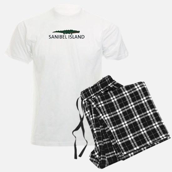 Sanibel Island - Alligator Design. Pajamas