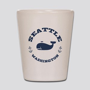 Seattle Whale Shot Glass