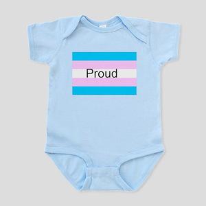 Transgenderd Pride Body Suit