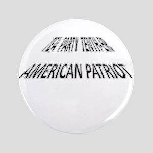 "Tea Party Tenth-er 3.5"" Button"