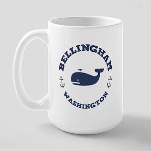 Bellingham Whale Large Mug