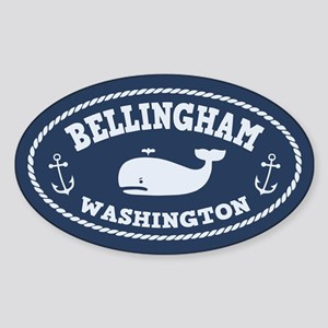 Bellingham Whale Sticker (Oval)