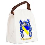Carl Canvas Lunch Bag