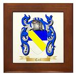 Carl Framed Tile