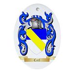 Carl Ornament (Oval)