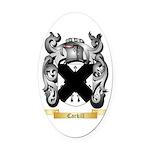 Carkill Oval Car Magnet