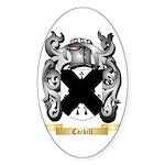 Carkill Sticker (Oval 50 pk)