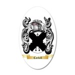 Carkill 20x12 Oval Wall Decal