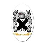 Carkill 35x21 Oval Wall Decal