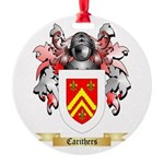 Carithers Round Ornament